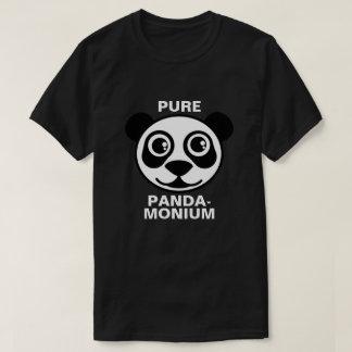 Pandamonium puro camisetas