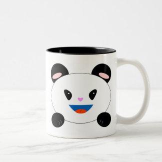 ¡PandaMug, buena fortuna de la demostración…, Taza De Dos Tonos