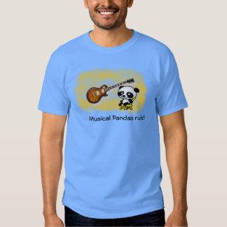 Pandas - camisetas