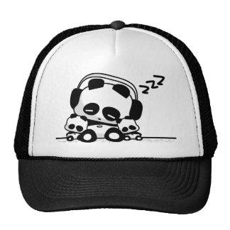 Pandas el dormir gorros
