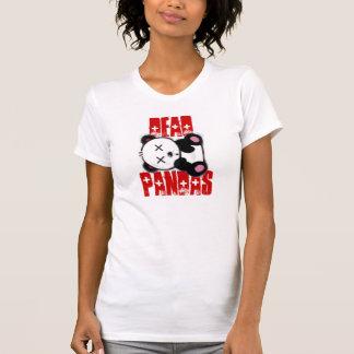 Pandas muertas camisetas