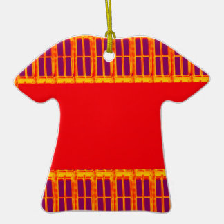 Pandit hindú religioso del Hinduism de Durga del Adorno De Cerámica En Forma De Camiseta