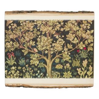 Panel De Madera Árbol de William Morris del Pre-Raphaelite del