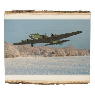 Panel De Madera Aviación de los aviones de la fortaleza del vuelo