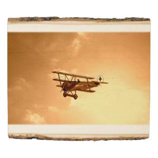 Panel De Madera Barón rojo Aircraft Aviation