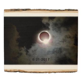 Panel De Madera Eclipse solar 21 de agosto de 2017