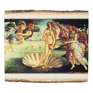 Panel De Madera El nacimiento de Venus