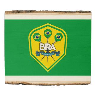 Panel De Madera Juegos tradicionales del Pub del Brasil