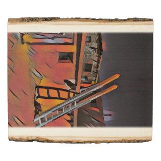 Panel De Madera Vivienda artística de Navajo de New México del