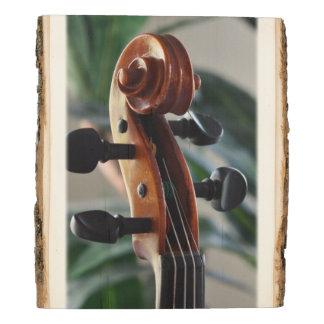 Panel De Madera Voluta elegante del violín
