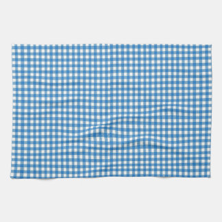 Paño bávaro blanco azul de la cocina