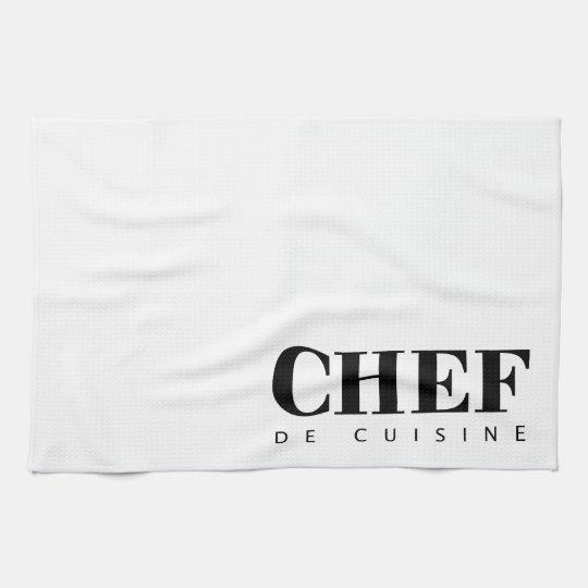Paño CHEF de cuisine