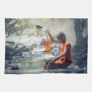 Paño De Cocina Agua y fuego