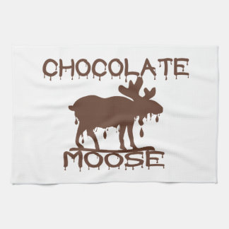 Paño De Cocina Alces del chocolate