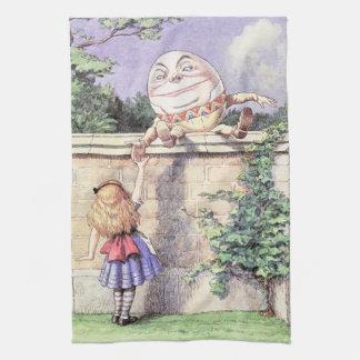 Paño De Cocina Alicia resuelve Humpty Dumpty