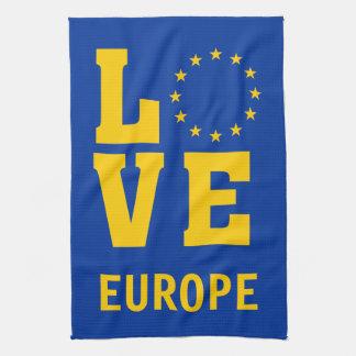 Paño De Cocina AMOR de la unión europea