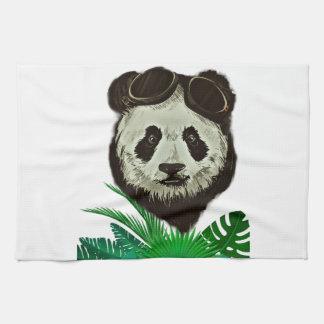 Paño De Cocina Animal del oso de panda del inconformista