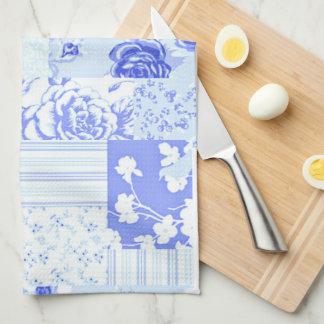 Paño De Cocina Azul dulce del Cornflower del país