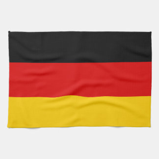 Paño De Cocina Bandera alemana patriótica