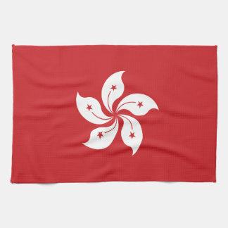 Paño De Cocina Bandera de Hong Kong