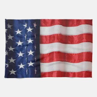 Paño De Cocina Bandera toalla-Americana de la cocina