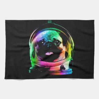 Paño De Cocina Barro amasado del astronauta - barro amasado de la