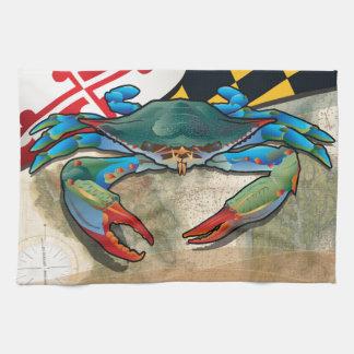 Paño De Cocina Cangrejo azul de Maryland