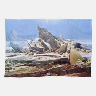 Paño De Cocina CASPAR DAVID FRIEDRICH - el mar del hielo 1824