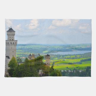 Paño De Cocina Castillo de Neuschwanstein en Baviera Alemania