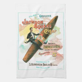 Paño De Cocina Cigarro cuadrado de Jackson