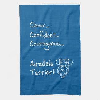 Paño De Cocina Clever Airedale Terrier