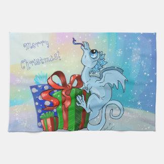 Paño De Cocina copo de nieve del dragón del lil
