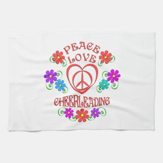 Paño De Cocina El animar del amor de la paz