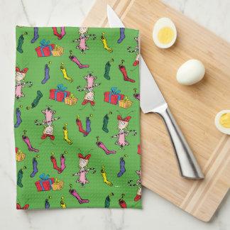 Paño De Cocina El Dr. Seuss los | el Grinch el | Cindy Lou que