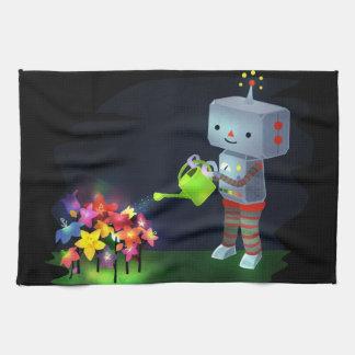 Paño De Cocina El jardín del robot