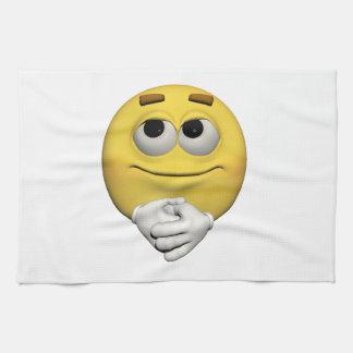 Paño De Cocina Emoticon de la alegría