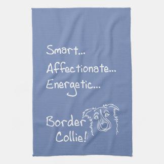 Paño De Cocina Energetic Border Collie