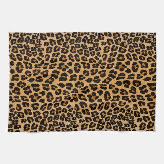 Paño De Cocina Estampado leopardo