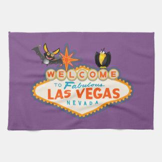 Paño De Cocina Estilo de Las Vegas del feliz Halloween