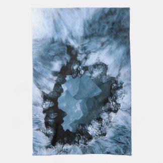 Paño De Cocina Fantasía azul cristalina