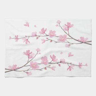 Paño De Cocina Flor de cerezo - fondo transparente