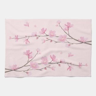Paño De Cocina Flor de cerezo - rosa