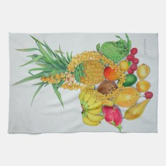 Paño De Cocina Fruta tropical y leus