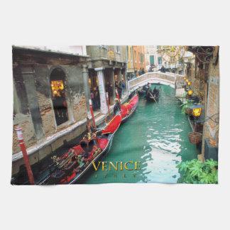 Paño De Cocina Góndolas Venecia, Italia