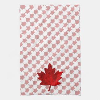Paño De Cocina Hoja del Canadá-Arce de Shirley Taylor