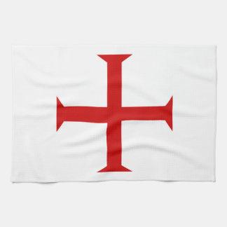 Paño De Cocina hospitall teutónico templar de Malta de la Cruz