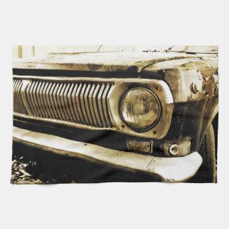 Paño De Cocina Linterna clásica vieja #2 del coche