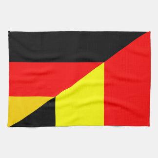 Paño De Cocina medio símbolo del país de la bandera de Alemania