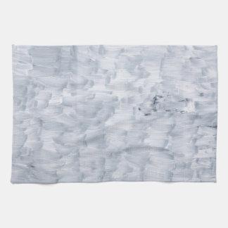 Paño De Cocina modelo blanco abstracto mínimo de la textura de la