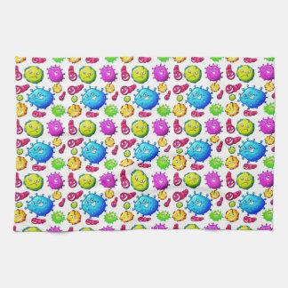 Paño De Cocina Modelo colorido de las gemas